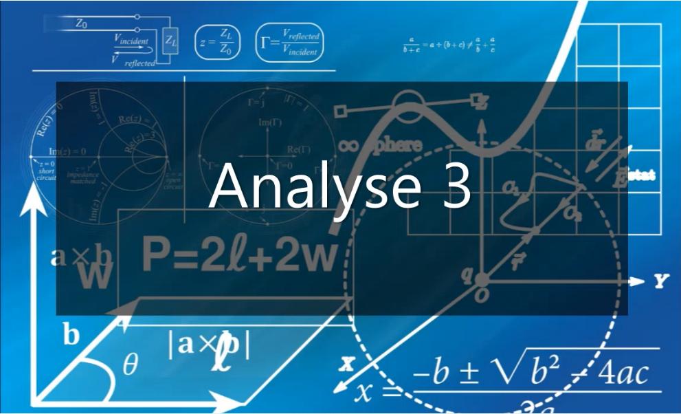 Photo : Analyse 03 : Cours, résumés, TD, Exercices et examens corrigés