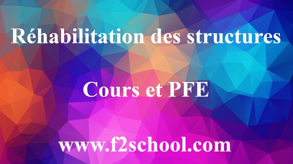 Réhabilitation des structures : Cours et PFE