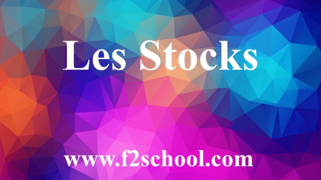 Stocks - Cours - Comptabilité