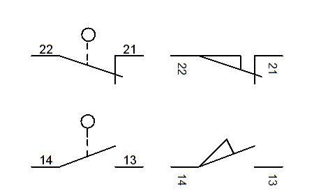 Les capteurs mécaniques ou interrupteurs de position