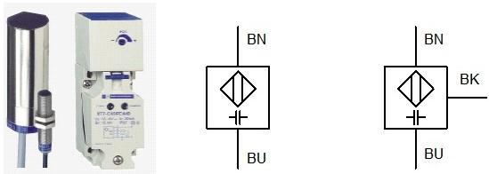 Les capteurs de proximité capacitifs